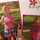 Simplicity Sewing Pattern 1393 Toddlers Dress Top Shorts Bag Headband Size 1/2-4