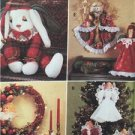 Simplicity Sewing Pattern 8704 Angel Wreath Ornaments Christmas Uncut
