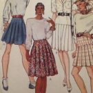 McCalls Sewing Pattern No 3815 Ladies / Misses Set of Skirts Size 8