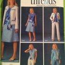 Simplicity Sewing Pattern 4241 Ladies Suit Skirt Pants Top Jacket Size 18-26