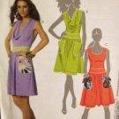 McCalls Sewing Pattern 6109 Ladies / Misses Dresses Size 14-22 UC