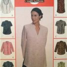 McCalls Sewing Pattern 9673 Ladies Misses Tops Size 4-6 Uncut