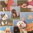 Simplicity Sewing Pattern 4472 Dog Pet Coats & Costumes Size S-M Uncut