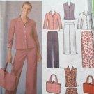 Simplicity Sewing Pattern 5204 Misses Pants Skirt Shirt Bag Size 14-22 Uncut