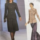 Vogue Sewing Pattern 2755 Misses Jacket Culottes Pants Size 12-16 Uncut