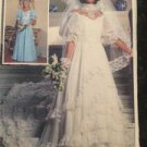 Simplicity Sewing Pattern 7259 Brides and Bridesmaid Dresses Size 10
