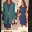 Vogue Sewing Pattern 8060 Ladies / Misses Jacket Dress Size 6-10 UC