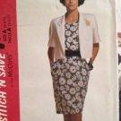Sewing Pattern No 5786 Stitch N Save Ladies Jacket & Dress Size 6-10