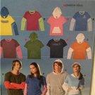 Burda Sewing Pattern 7916 Misses Mens T-Shirt Size 6-20 34-44 Uncut