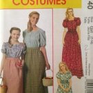 McCalls Sewing Pattern 6140 Misses / Childs Colonial Costume Size S-XL Uncut