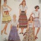 Sewing Pattern No 4822 McCalls Ladies Set of Skirts Size 14-16