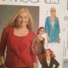 McCalls Sewing Pattern 5536 Ladies / Misses Tops Tunic Size 18W-24W Uncut