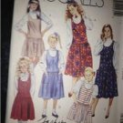 Sewing Pattern No 4423 McCalls Girls Dress/Jumper Size 7-10