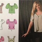Simplicity Sewing Pattern 2697 Misses Ladies Tops Size 4-12 Uncut