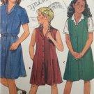 Butterick Sewing Pattern 0994 Girls Childs School Uniform Size 7-14 Uncut