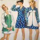 Simplicity Sewing Pattern 8710 Young Junior Mini Dress Vest Size 9/10