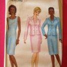 Butterick Sewing Pattern 6454 Ladies / Misses Jacket Dress Size 18-22 Uncut