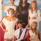 Simplicity Sewing Pattern 3647 Adult Mens Miss Teen Greek Costume Size XS-XL UC