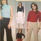 McCalls Sewing Pattern 6082 Ladies Misses Pants Size 16-22 Uncut