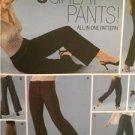 Simplicity Sewing Pattern 5350 Ladies Misses 8 Great Pants Size 4-10 Uncut