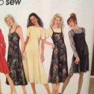 Simplicity Sewing Pattern 9791 Ladies / Misses Dress Slipdress Size 4-8 Uncut