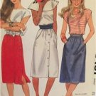 McCalls Sewing Pattern 8481 Ladies Misses Skirts Size 16 Uncut