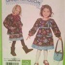 Simplicity Sewing Pattern 2348  Daisy Kingdom Girls Dress Jacket  Bag Size 2-5