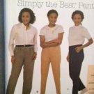 Simplicity Sewing Pattern 8078 Ladies / Misses Pants Size 26w-32w Uncut