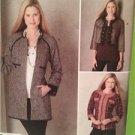 Simplicity  Sewing Pattern 2149 Misses Ladies Jacket Autumn Size 14-22 Uncut