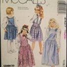 Sewing Pattern No 4427 McCalls Girls Jumper Size 10