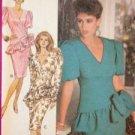 Butterick Sewing Pattern 3015 Ladies / Misses Dress Size 12 Uncut