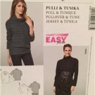 Burda Sewing Pattern 6983 Ladies Misses Pullover Tunic Size 10-24 Uncut
