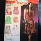 Simplicity Sewing Pattern 0592 4703 Misses Ladies Skirts Size 12-18 Uncut