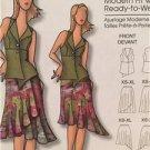 Butterick Sewing Pattern 5052 Ladies Misses Vest Skirt Size XXL-6X Uncut