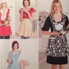 Simplicity Sewing Pattern 2298 Misses Aprons Hat Bottle Cozy Uncut