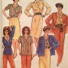 McCalls Sewing Pattern 8468 Ladies Misses Jacket Blouse Skirt Size 40 Uncut