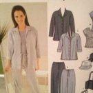 Simplicity Sewing Pattern 7182 Ladies / Misses Pants Shirt Top Size 8-14 Uncut