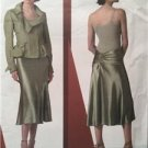 Vogue Sewing Pattern 2862 Ladies Misses Jacket Skirt Size 18-22 Donna Karan