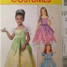McCalls Sewing Pattern 6183 Childs / Girl Princess Costumes Size 6-8 Uncut
