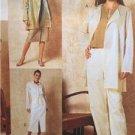 Vogue Sewing Pattern 2409 Misses Jacket Skirt Shirt Dress Pants Size 12-16 UC