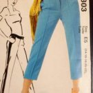McCalls Sewing Pattern 6707 Ladies / Misses Pants Size 14-22 Uncut