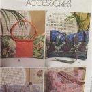 McCalls Sewing Pattern 5066 Handbag Wallets Accessories Fashion Uncut