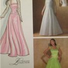 Simplicity Sewing Pattern 4258 Misses Special Occasion Dress Size 16-24 UC