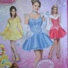Simplicity Sewing Pattern 1553 Ladies / Misses Disney Costumes Size 6-12 Uncut