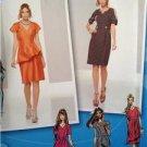 Simplicity Sewing Pattern 1798 Misses Ladies Dress Size 4-12 Uncut