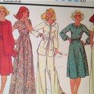 McCalls Sewing Pattern 5806 Ladies Misses Jumpsuit Dress Jacket Size 12 Uncut