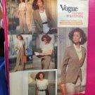Vogue Sewing Pattern 2445 Ladies/ Misses Jacket Skirt Pants Top Size 8-12 UC
