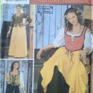 Simplicity Sewing Pattern 5582 Misses Ladies Renaissance Costume Dresses 4-10 UC