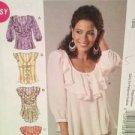 McCalls Sewing Pattern 6467 Ladies / Misses Tops Size 6-14 Uncut