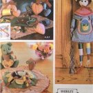 Simplicity Sewing Pattern 5227 Craft Bear Pin Cushion Sewing Doll Kit Holder UC